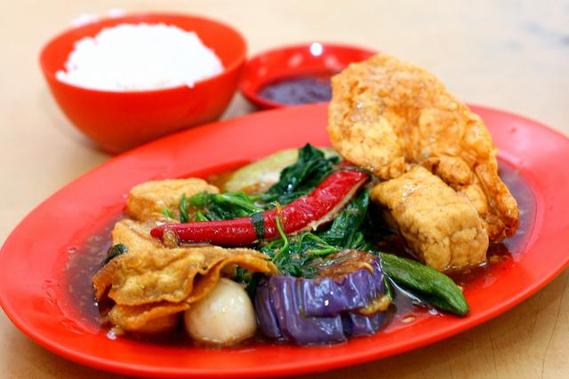 新加坡酿豆腐