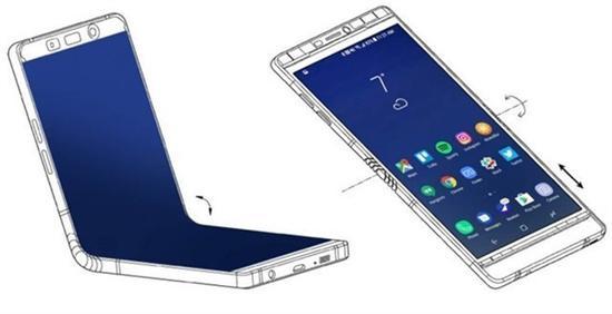 2018三星可折叠手机Galaxy X