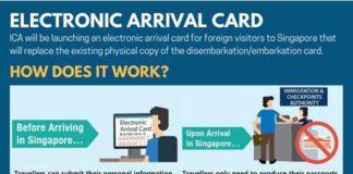 2018新加坡电子入境卡